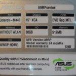 Чистим человеческий Asus A9RP
