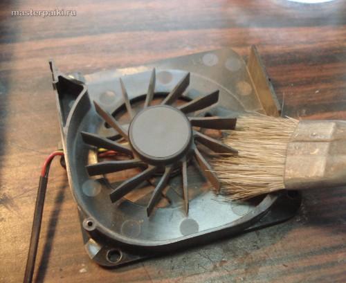 чистим вентилятор Asus A9RP