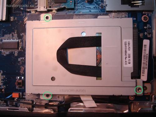 Откручиваем винтчестер Asus A9RP