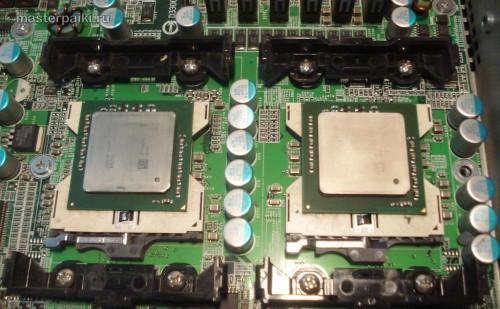 вычищаем старую термопасту с процессоров GS-SR125E