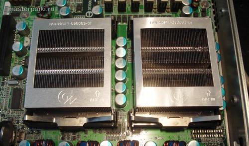 устанавливаем радиаторы охлаждения GS-SR125E