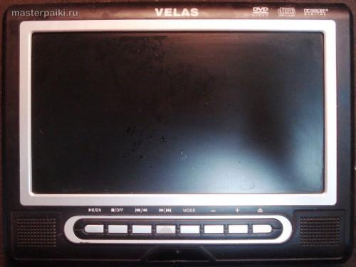 портативный DVD-плеер Velas VDS-852B
