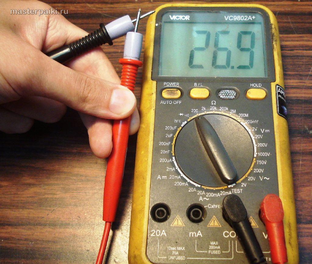 Мультиметр Мастер Professional M832