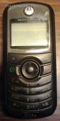 внешний вид сотового телефона Motorola C113A