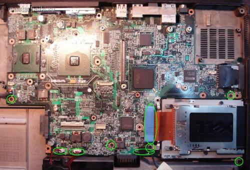 материнская плата Dell Inspiron 9300