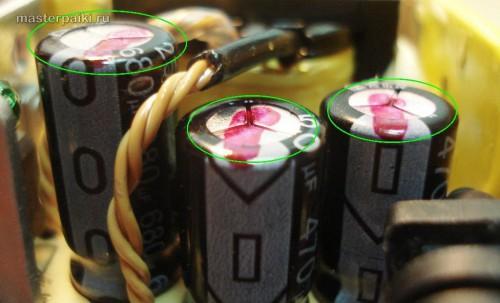 хорошие конденсаторы блока питания SAD04214A монитора Samsung 960BF