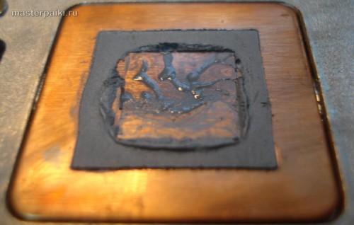 старая термопаста HP ProBook 4510s