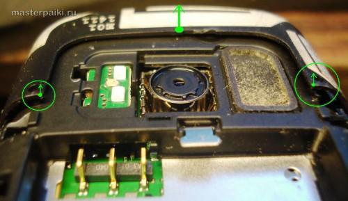 поддеть антенный блок сотового телефона Nokia С6-01.3(RM-718)
