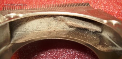 пыль HP ProBook 4510s