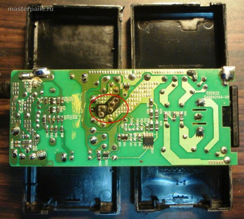плата блока питания SAD04214A монитора Samsung 960BF