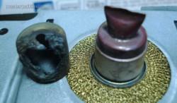 снимаем колпачок магнетрона СВЧ-печки