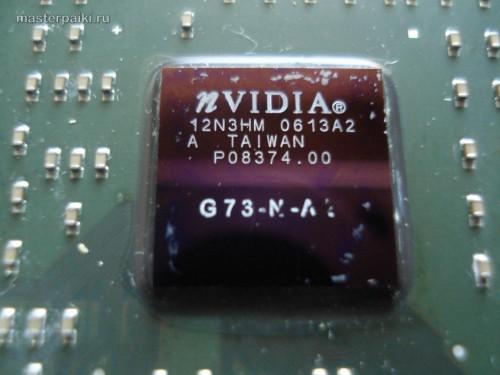 маркировка не выдержала GeForce 7600GS