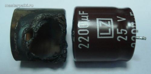 подходящий по размерам конденсатор для изготовления новго колпачка магнетрона СВЧ-печки