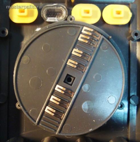 переключатель китайского мультиметра Victor VC9802A+