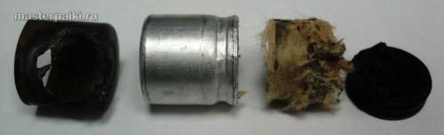 разбираем конденсатор для замена колпачка магнетрона микроволновой печи