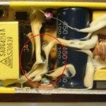 Вскрытие и ремонт клеенного блока питания SAD04214A монитора Samsung 960BF