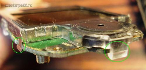 отщелкиваем экран мобильного телефона Motorola C113A