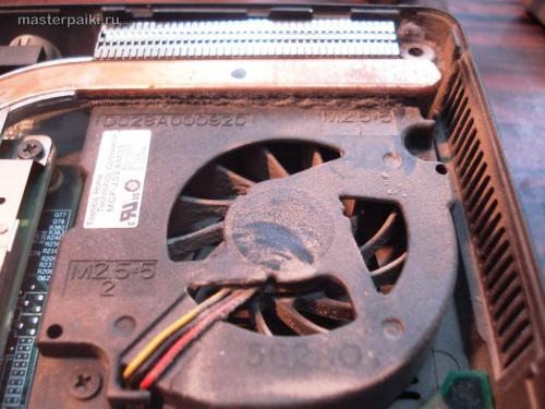 охлаждение видеокарты Dell Inspiron 9300