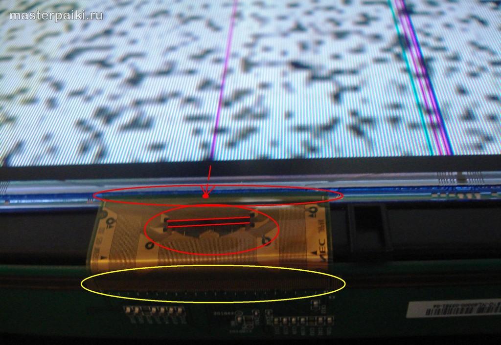 декодер ЖК-панели Samsung LE40A454C1
