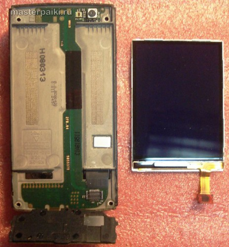 экран смартфона Nokia N95 8Gb