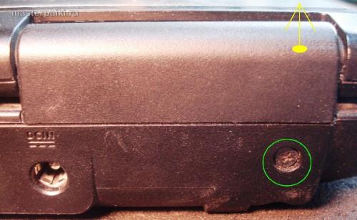 накладка петли ноутбука Asus X55S