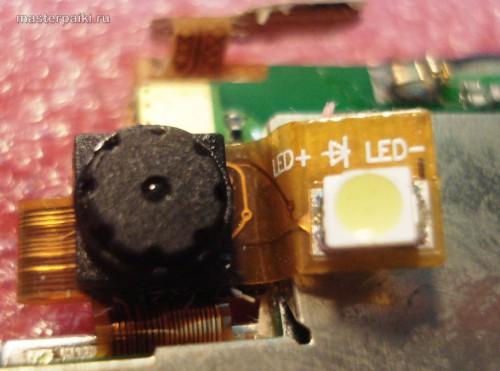 камера со светодиодом у китайского iphone K599