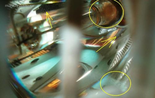 пыль внутри лампы DLP проектора Acer DNX0811