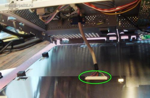 шлейф матрицы монитора LG L1530S