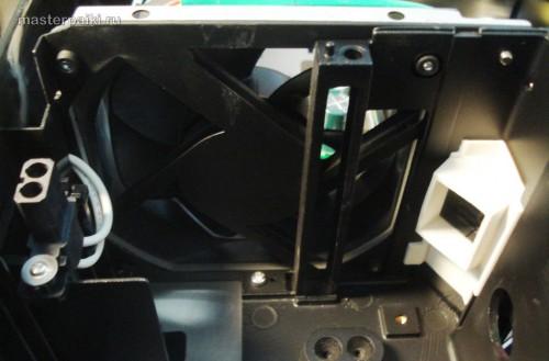 вентилятор DLP проектора Acer DNX0811 после чистки