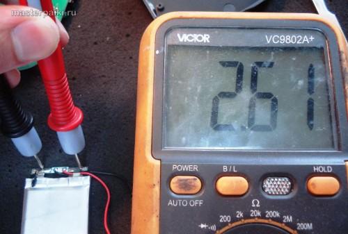 до ремонта аккумулятора китайского видеорегистратора Supra SCR-650