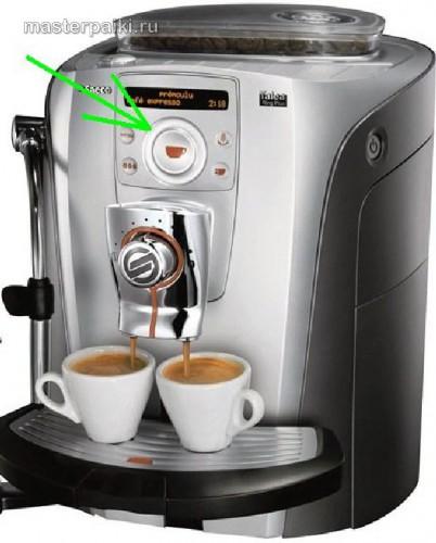 кофеварка Saeco управляется тараканами