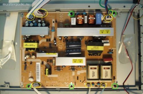 источник питания ЖК телевизора Samsung LE40A454C1