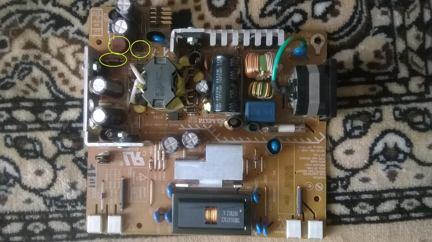 Ремонт монитора samsung 920nw своими руками