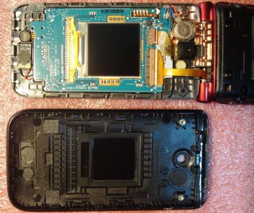 под крышкой телефона Samsung LaFleur GT-E2530