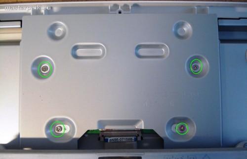 задняя панель ЖК телевизора Samsung LE40A454C1