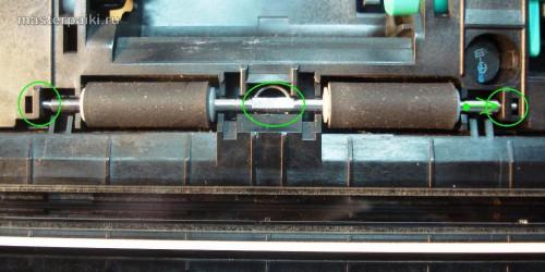 ролики протяжки бумаги сканера Canon DR-2580C