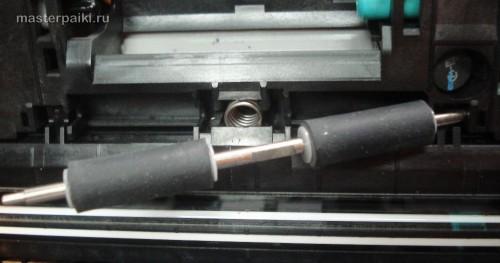 извлечь ролики сканера Canon DR-2580C