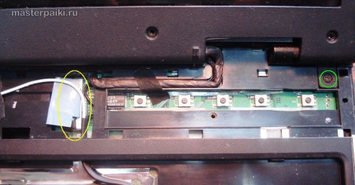 шлейфы ноутбука Acer Aspire 9410z