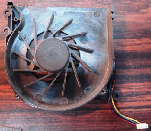 вентилятор ноутбука Asus X51R