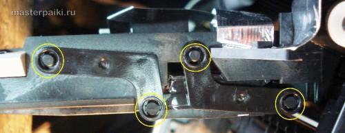 крепеж оптического блока сканера Canon DR-2580C