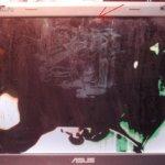 Полная реанимация ноутбука Asus X51R(замена матрицы, ремонт вентилятора, чистка)