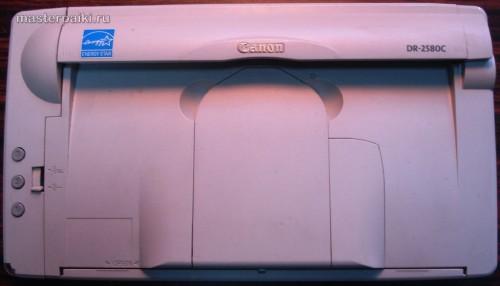 внешний вид сканера Canon DR-2580C