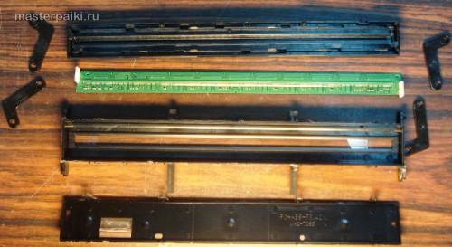 разобранный блок оптики сканера Canon DR-2580C
