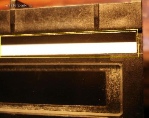калибровочная накладка сканера Canon DR-2580C