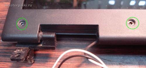 разбираем дисплей ноутбука Acer Aspire 9410z