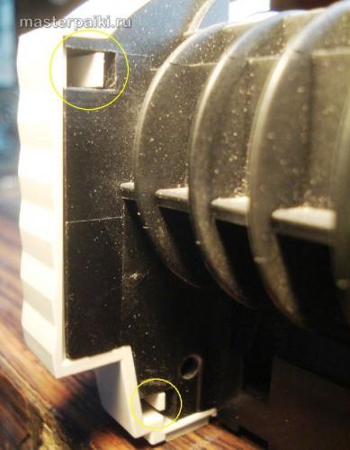 защелки боковой крышки сканера Canon DR-2580C