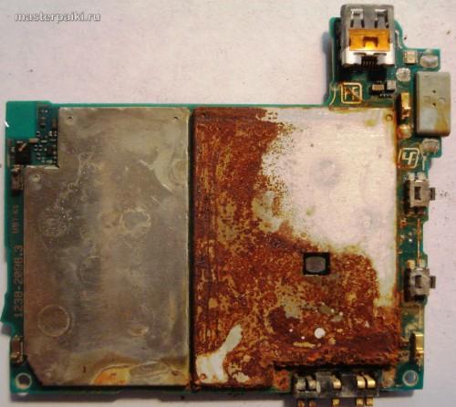 утопил смартфон Sony Ericsson Xperia Arc S LT18i