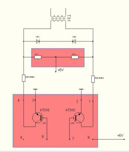 модификация, схема и ремонт dsl-2500u