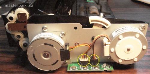 двигатель сканера Canon DR-2580C