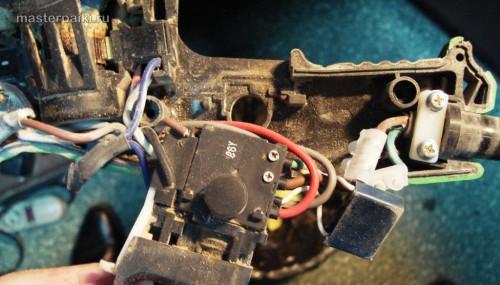 покдлючение перфоратора Hitachi DH 24PC3